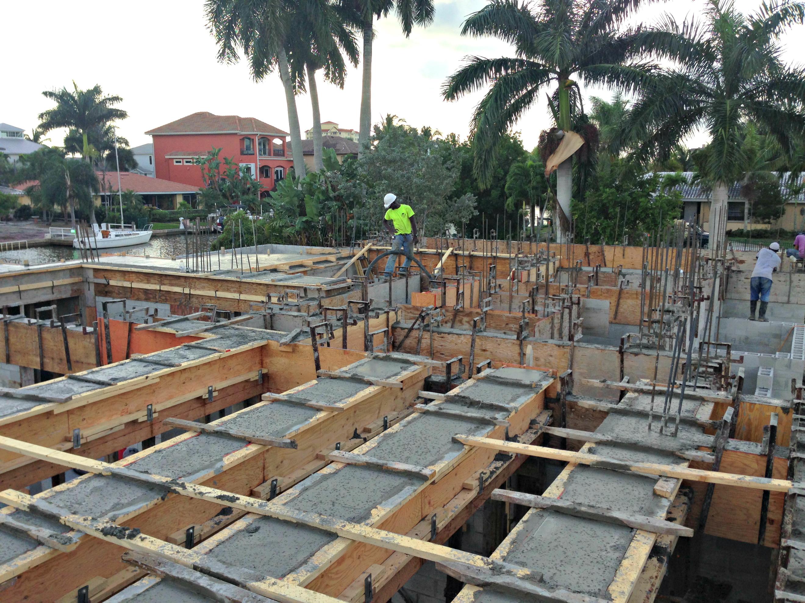 Concrete Division - Naples Luxury Builders, Inc.